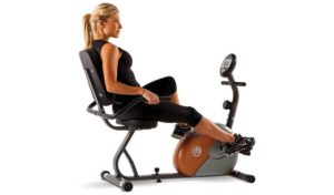 Marcy foldable exercise bike with resistance