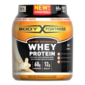 bodyfortress super advanced vanilla 100% whey protein