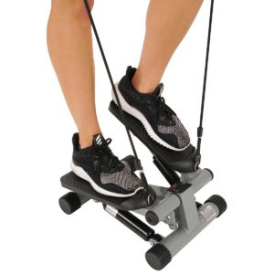 Sunny Health and Fitness Mini Stepper with Resistance Bands
