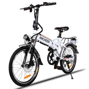 "20"" FOLDING ELECTRIC COMMUTER BIKE"