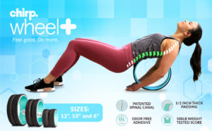 Chirp Wheel Review 2020. Yoga Wheel For Back Pain