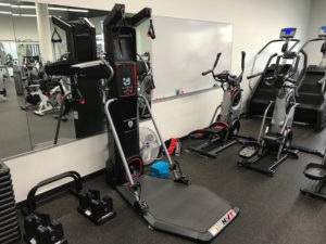 THE BOWFLEX HVT MACHINE