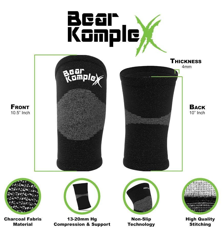 Bear KompleX Compression Lite Knee Sleeves